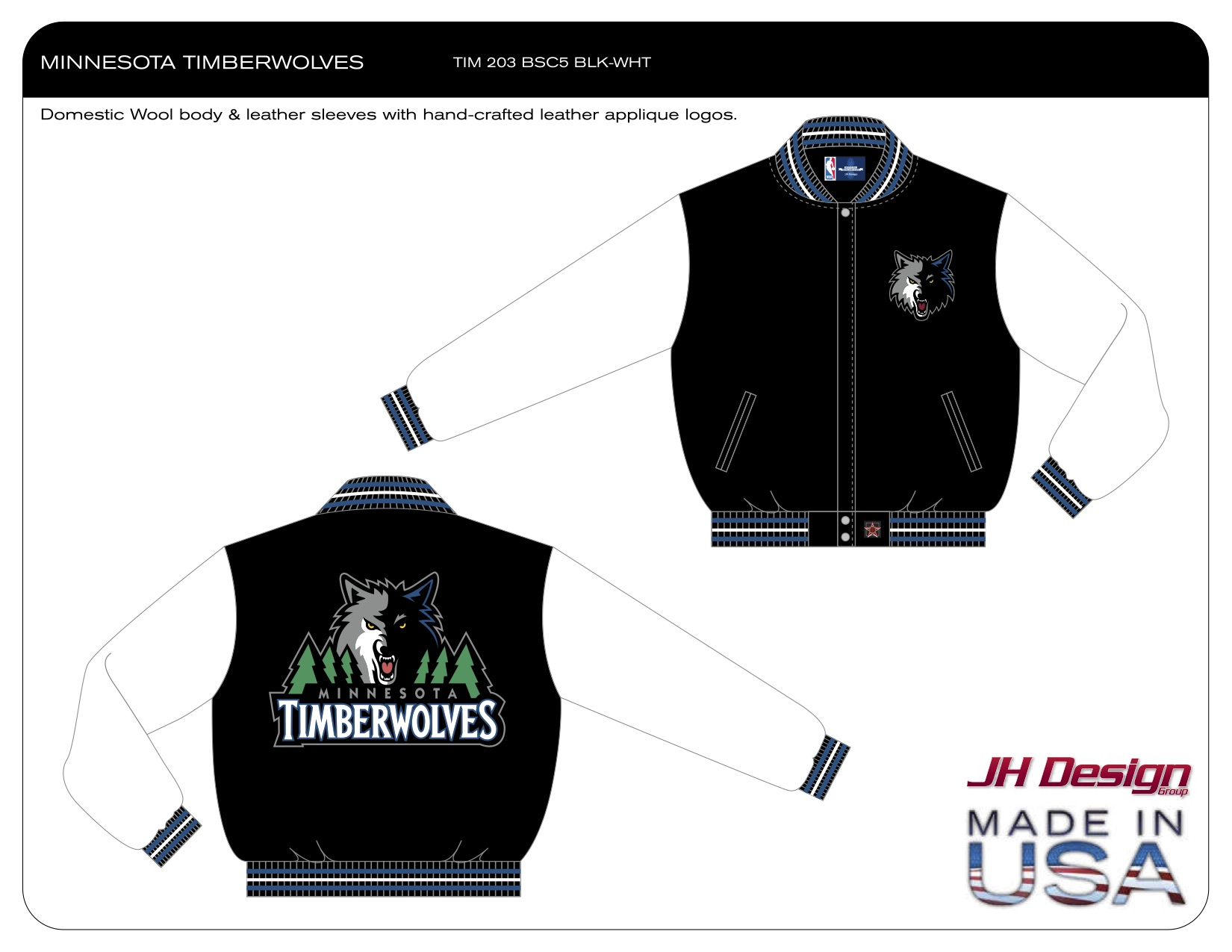TIM 203 BSC5 BLK-WHT