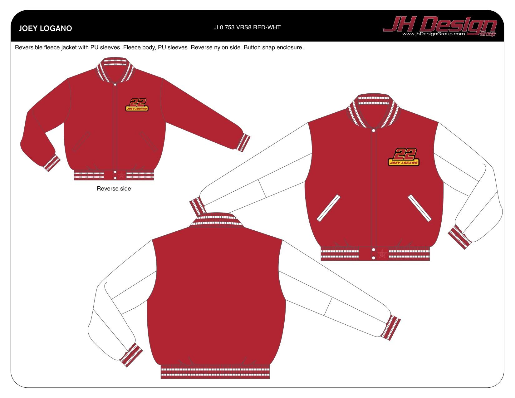 JL0 753 VRS8 RED-WHT