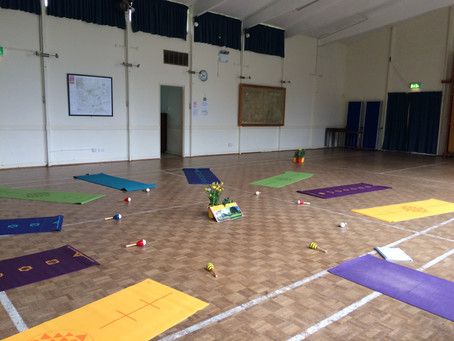 Children returning back to school after lockdown - how can yoga help them?
