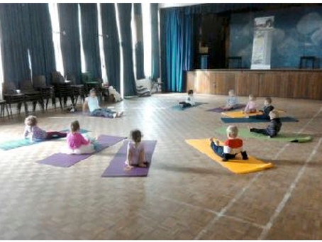 Yoga in a pre-school setting (age 2.5 - rising 5)