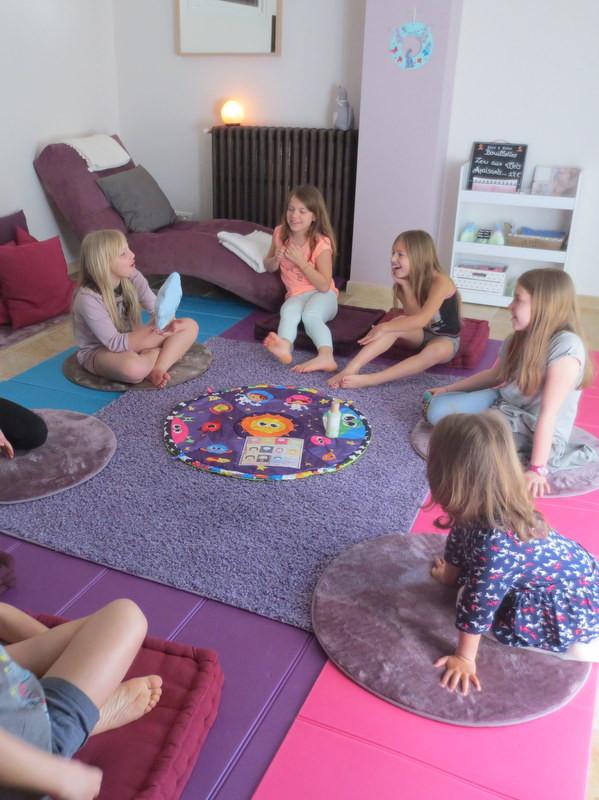 Atelier enfant Mon Moment Magique Atelier Bulle de soie Avignon