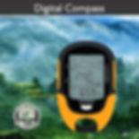 Digital LCD GPS Compass Altimeter Barometer