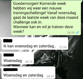 Trainingschallenge FSB-Academy sport motivatie Gorredijk Friesland