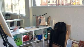 New Art Studio !
