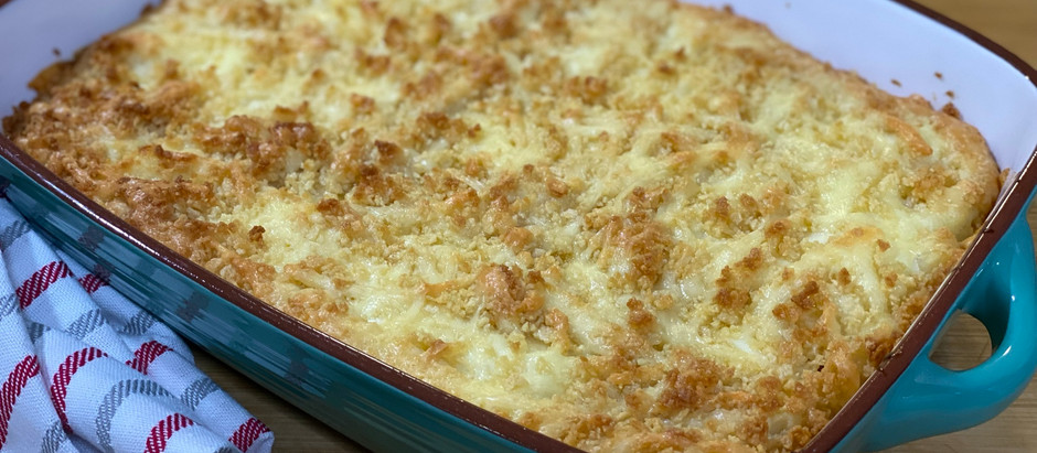 Easy Baked Macaroni and Cheese (GF)