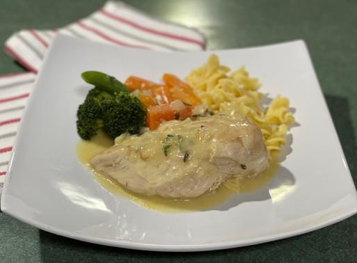 Thyme Braised Chicken