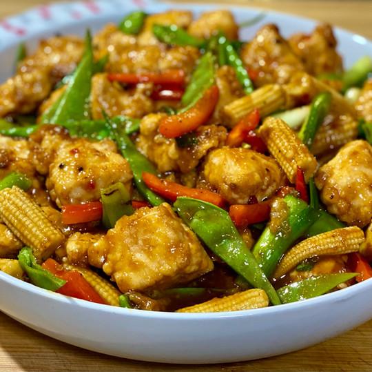 Hoisin & Sweet Chilli Chicken Stir Fry
