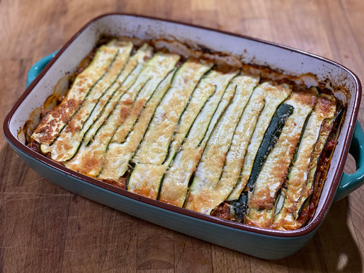 Zucchini and Turkey Lasagne