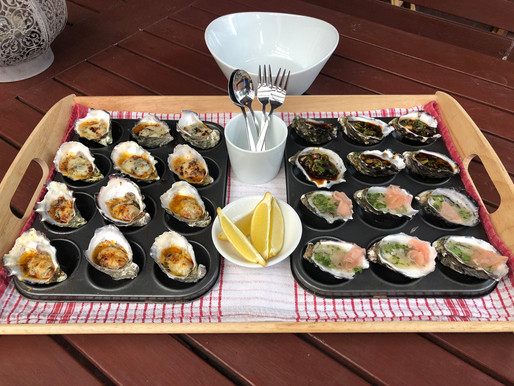 Oysters - 4 Ways