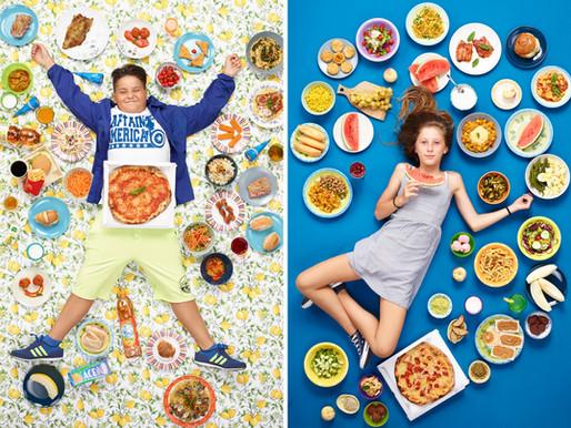 Children's eating patterns around the world