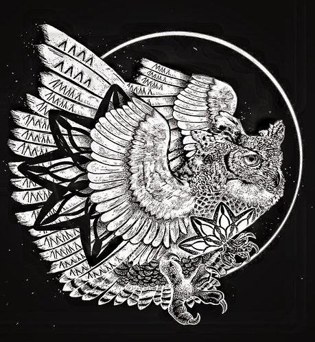 Instinct of Sight 『owl』(black)