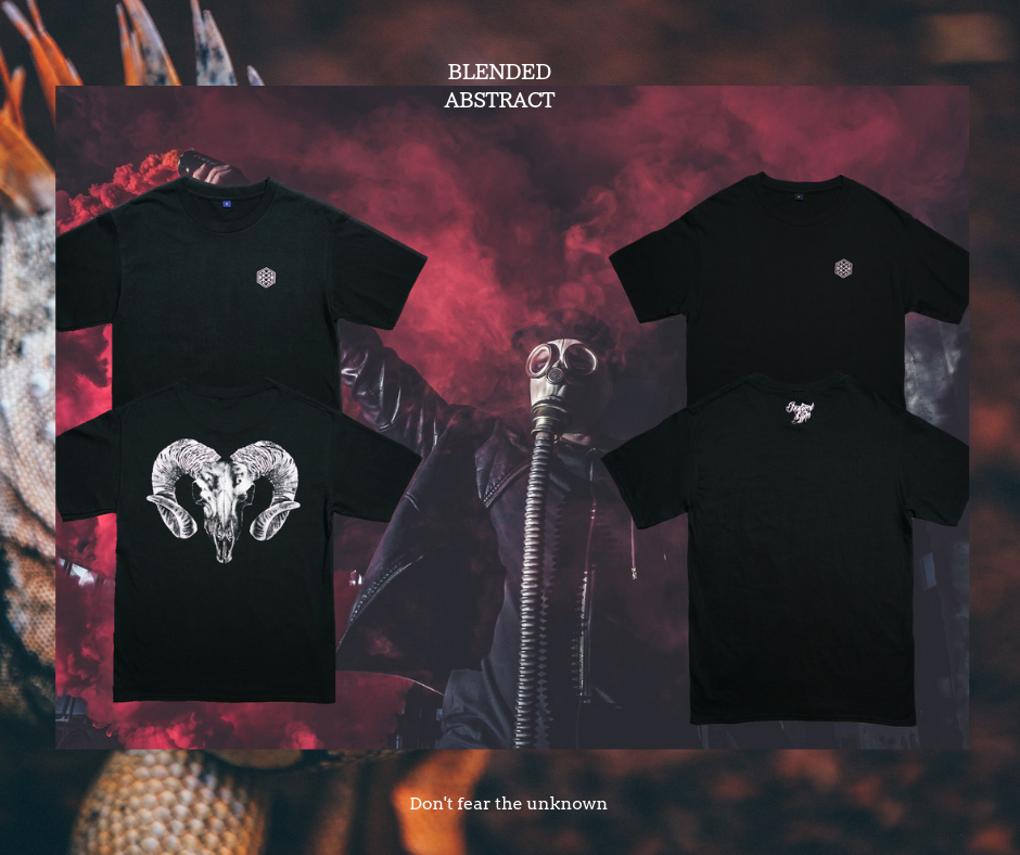 《Blended Abstract》Merch Don't fear the U
