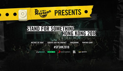 stand for something hong kong 2018