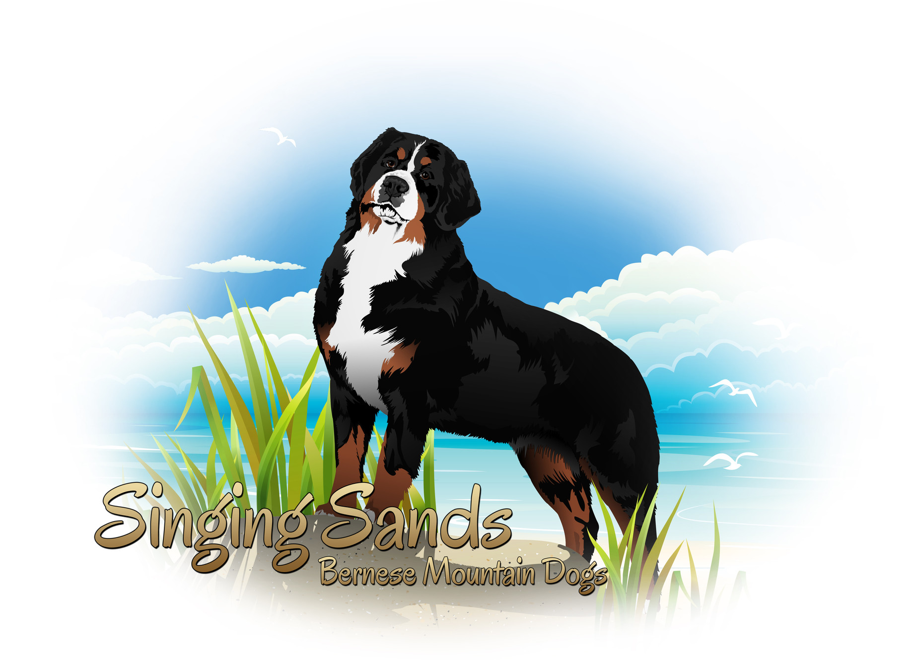 Singing Sands Bernese mountain dog breeders Northwest