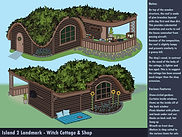 Snapshot Witch's House Concept Sheet
