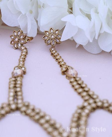 Polki hand-rings (flower)