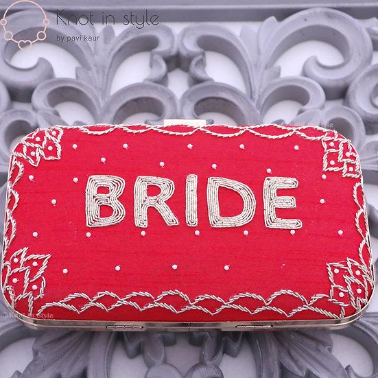 'Bride' clutch