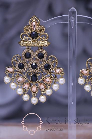 Polki earrings (medium sized)