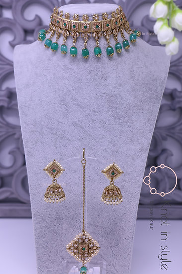 Polki choker set ( passa included)