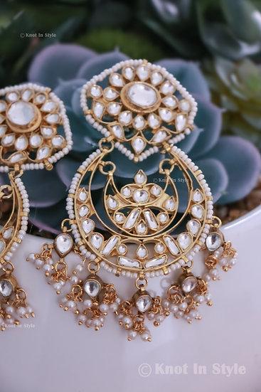 High quality pachi kundan earrings