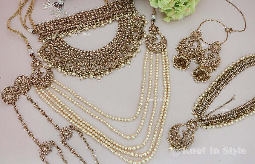 Polki complete bridal set