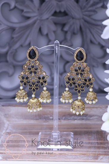Polki earrings (LARGE)