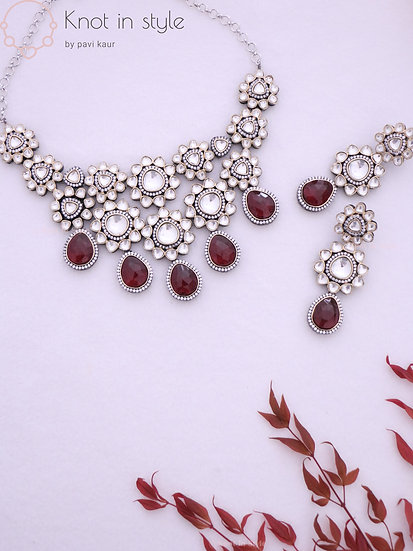 """LUGANO"" necklace set"