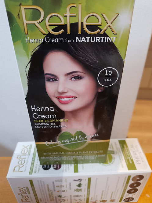 Naturtint Reflex Semi-Permanent Hair Colour 1.0 Black