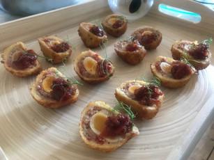 Chef Andy B- Scotch Egg Tomatoe Jam