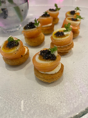 Chef Andy B - Salmon Caviar