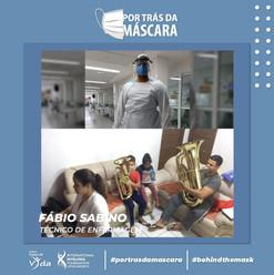 Fabio Sabino - Técnico em Enfermagem
