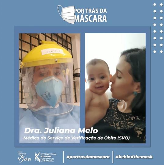 Dra Juliana Melo - Médica do Serviço de Verificação de Óbito (SVO)
