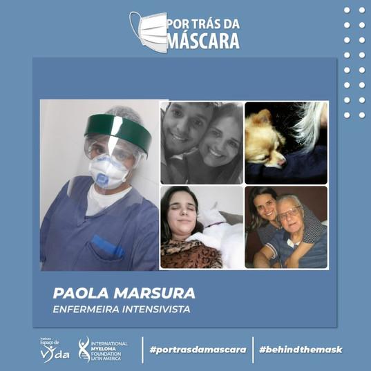 Paola Marsura - Enfermeira Intensivista