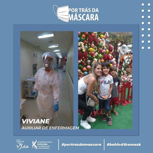 Viviane - Auxiliar de Enfermagem
