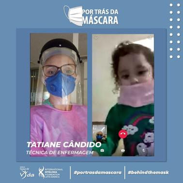 Tatiane Cândido - Técnica de Enfermagem