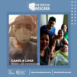 Camila Lima - Técnica em Enfermagem