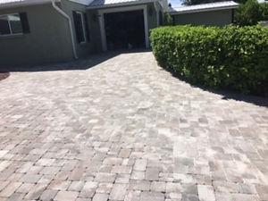 pavers - new sand