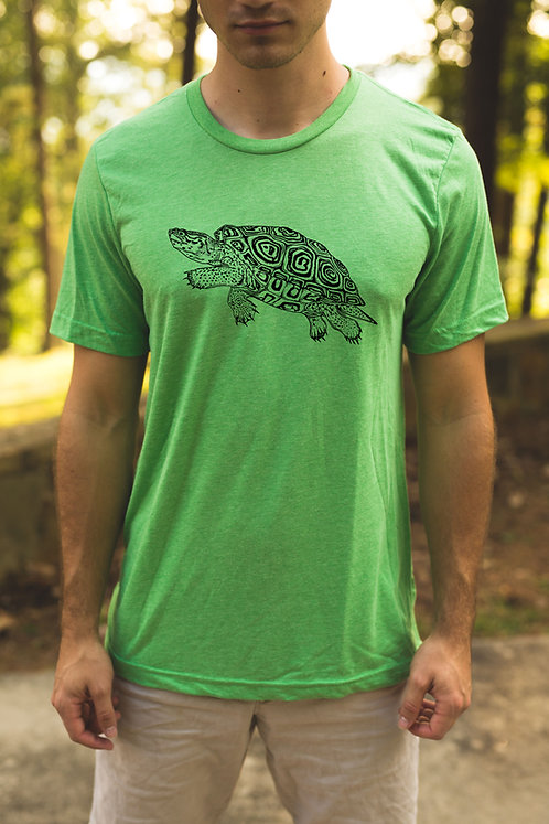 Turtle Super Soft Tri-blend Tee