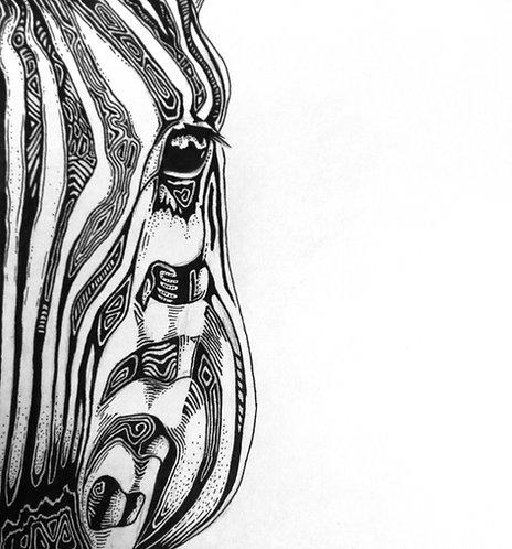 Zebra Folding Card(s)