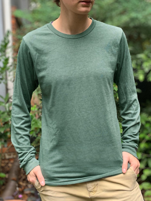 Forest Green Long-Sleeve T-Shirt