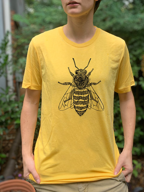 Honey Bee Super Soft Tri-blend Tee