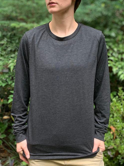 Dark Gray Long-Sleeve T-Shirt