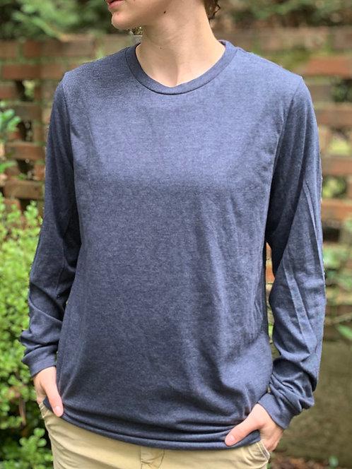 Navy Long-Sleeve T-Shirt