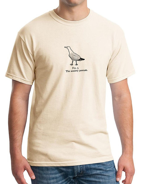 Anxiety Gull 100% Cotton T-Shirt