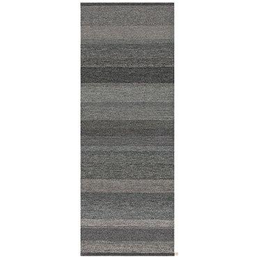 Kasthall løper - Harvest Grey Black  - 80 x 315 cm
