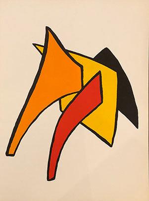 Alexander Calder - Stabiles VI from Derrière le Miroir