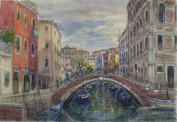 Bruno Zupan - Bridge by Frari