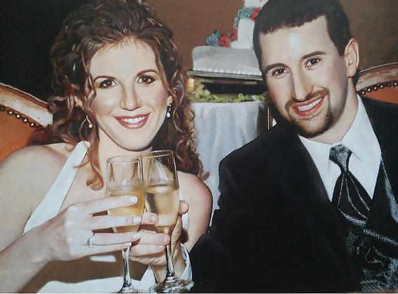 Jessica Cook - Dykeman Wedding Portrait