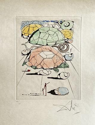 Salvador Dalí - Turtle Mountain