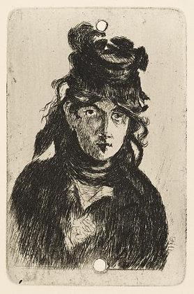Édouard Manet - Berthe Morisot